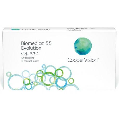 Biomedics55 (6 Lenses) -1.25