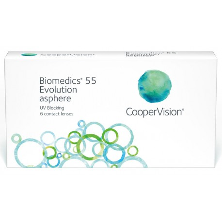 Biomedics55 (6 Lenses) -2.25