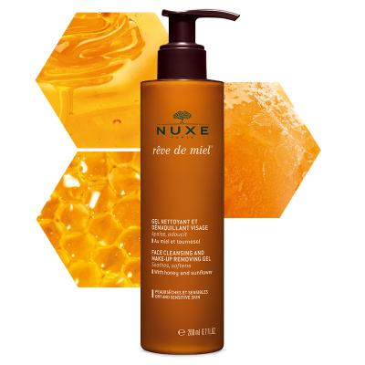 Nuxe Face Cleasing & Make-Up Remover Reve De Miel 200ml