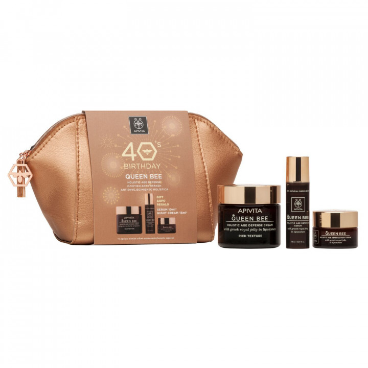 Apivita 40'S Queen Bee Gift Set