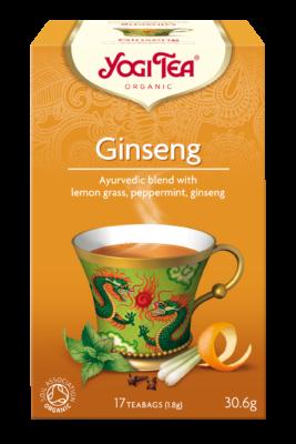 YOGI TEA GINSENG 30.6g/ 17 TEABAGS