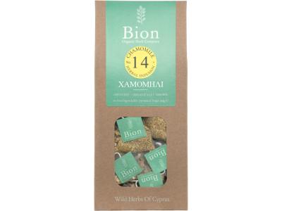 BION CHAMOMILE TEA 15g/ 15 biodegradable pyramid bags