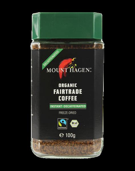 MOUNT-HAGEN DECAFFEINATED ORGANIC FAIRTRADE INSTANT COFFEE 100g