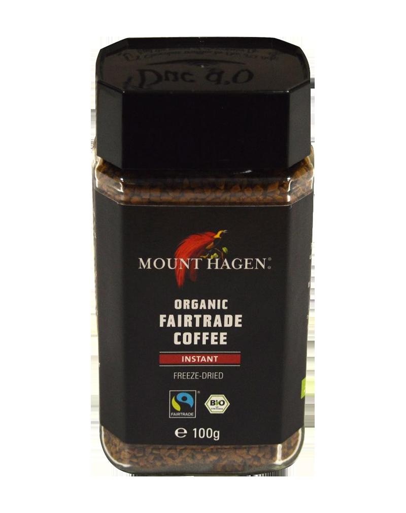 MOUNT-HAGEN ORGANIC FAIRTRADE INSTANT COFFEE 100g