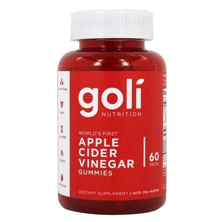 GOLI NUTRITION - 60 APPLE CIDER VINEGAR GUMMIES