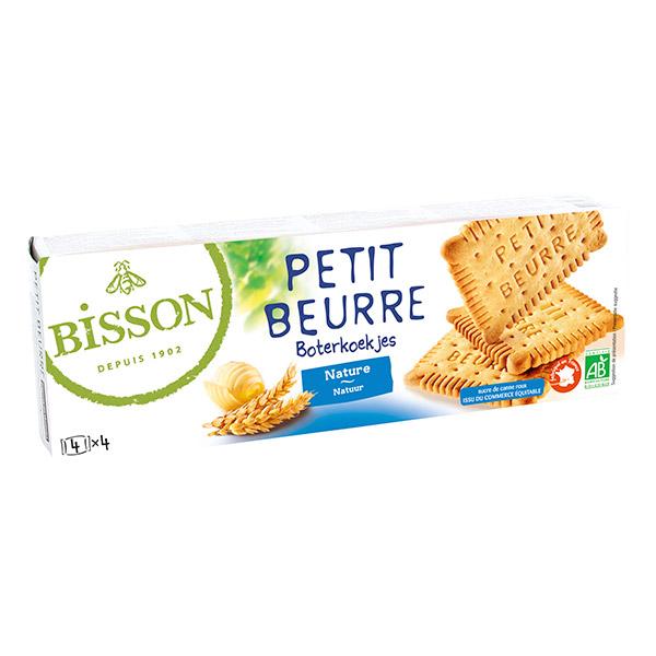 BISSON - NATURAL PLAIN BISCUITS 150g
