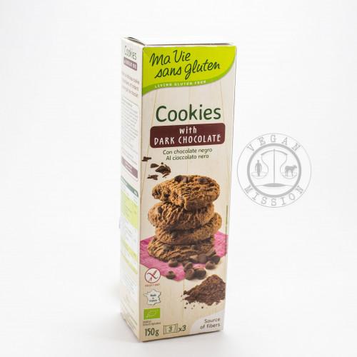 MA VIE SANS GLUTEN - DARK CHOCOLATE COOKIES 150g