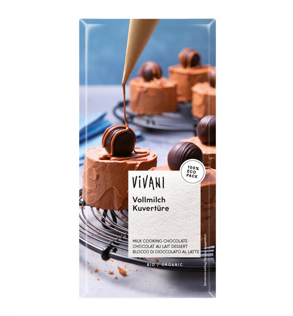 VIVANI - ORGANIC MILK COOKING CHOCOLATE - 200g