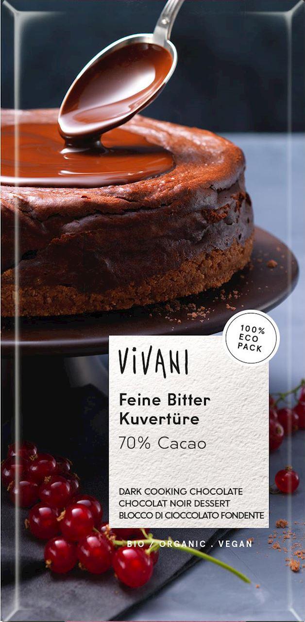 VIVANI - 70% DARK COOKING CHOCOLATE - 200g