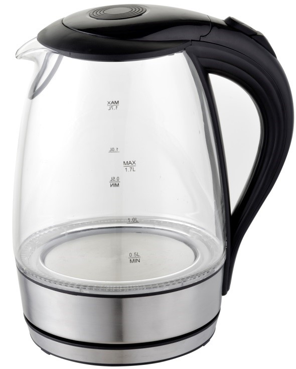 SASTRO GLASS ELECTRIC KETTLE 1.7LT/2.2KW