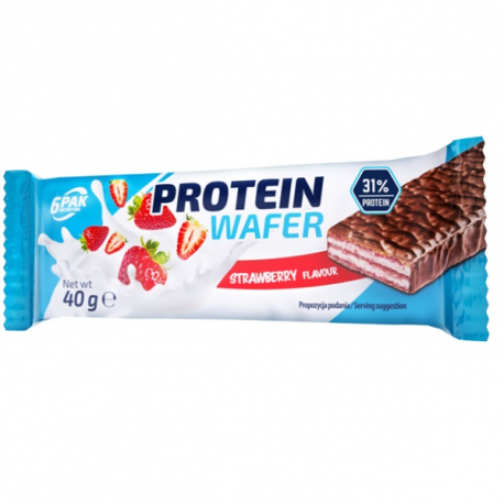 6PAK - Protein Waffers - Strawberry