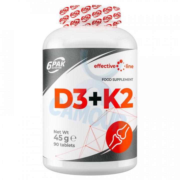 EFFECTIVE LINE D3+K2