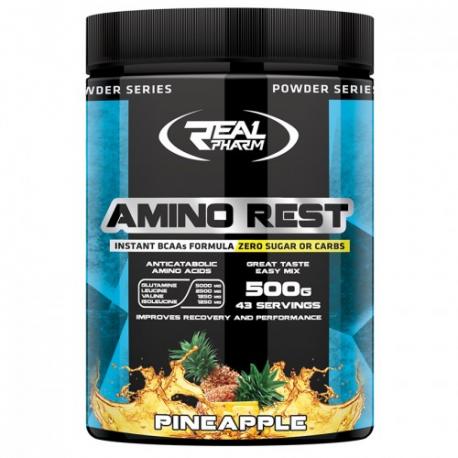 Real Pharm Amino rest 500g - Pineapple