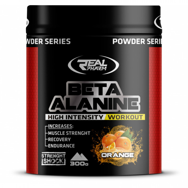 Real Pharm Beta Alanine - Orange, Powder
