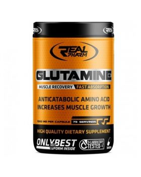Real Pharm Glutamine 300capsules