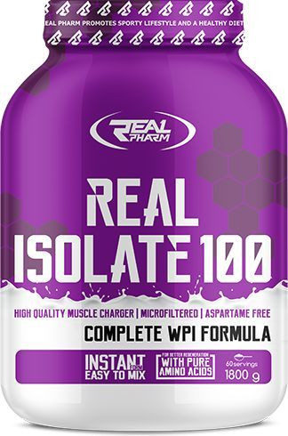 Real Pharm ISOLATE 100 - Baked apple