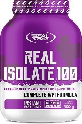 Real Pharm ISOLATE 100 - Vanilla almond