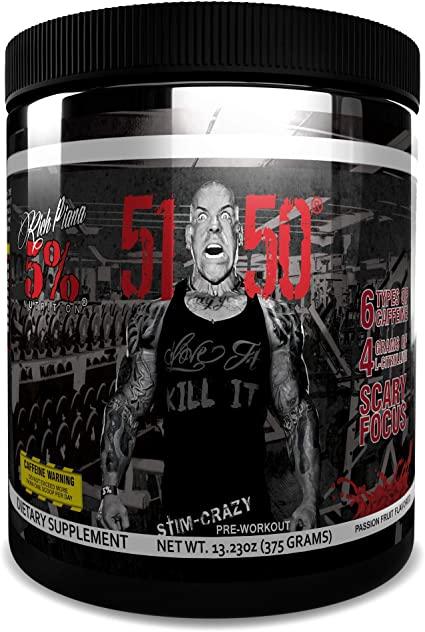 RICH PIANA 5% - 5150 High Stimulant Pre-Workout 375gr.