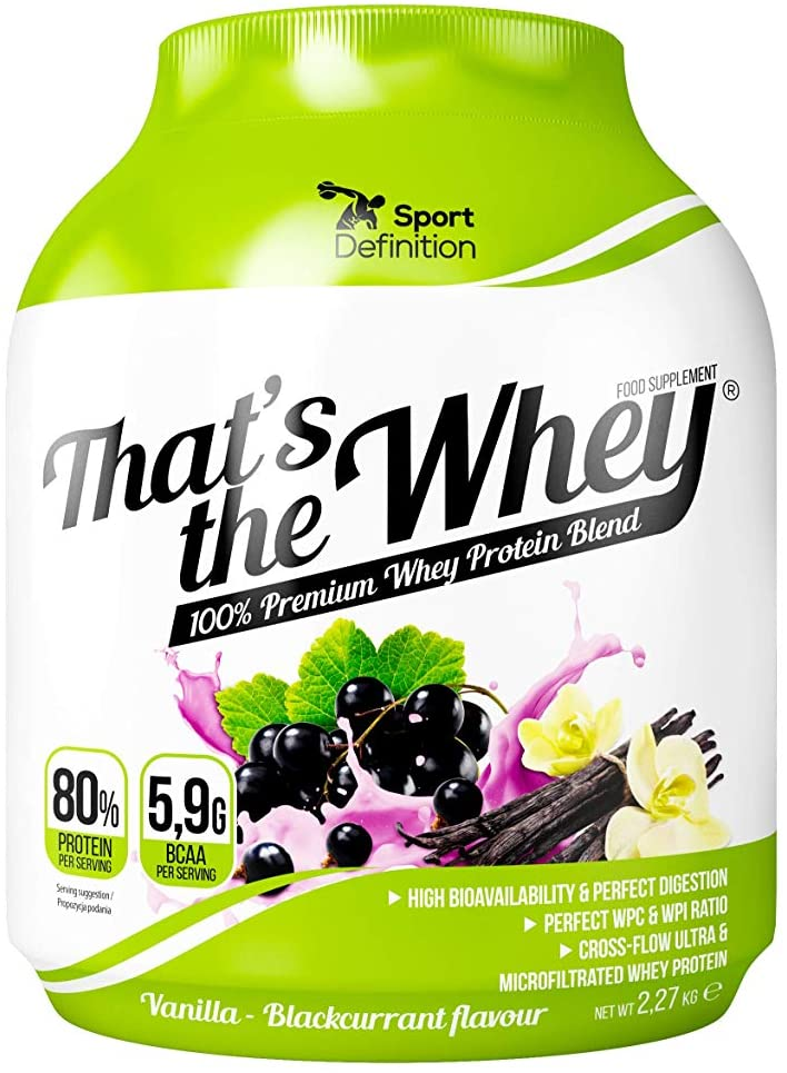 Sport Definition That's The Whey - Vanilla Blackcurrant