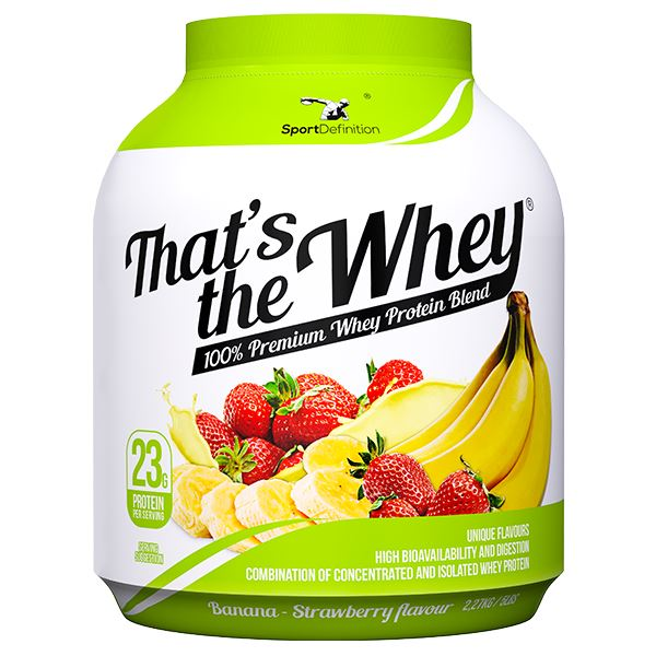 Sport Definition That's The Whey - Strawberry Banana