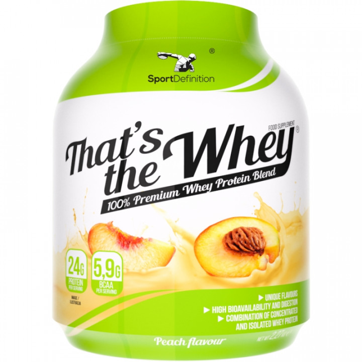 Sport Definition That's The Whey - Peach