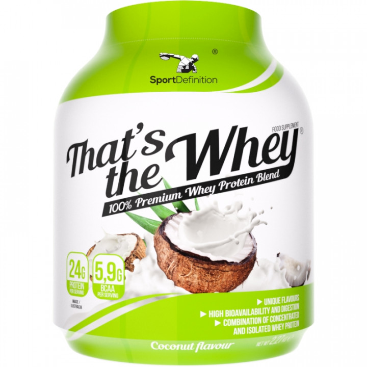 Sport Definition That's The Whey - Coconut