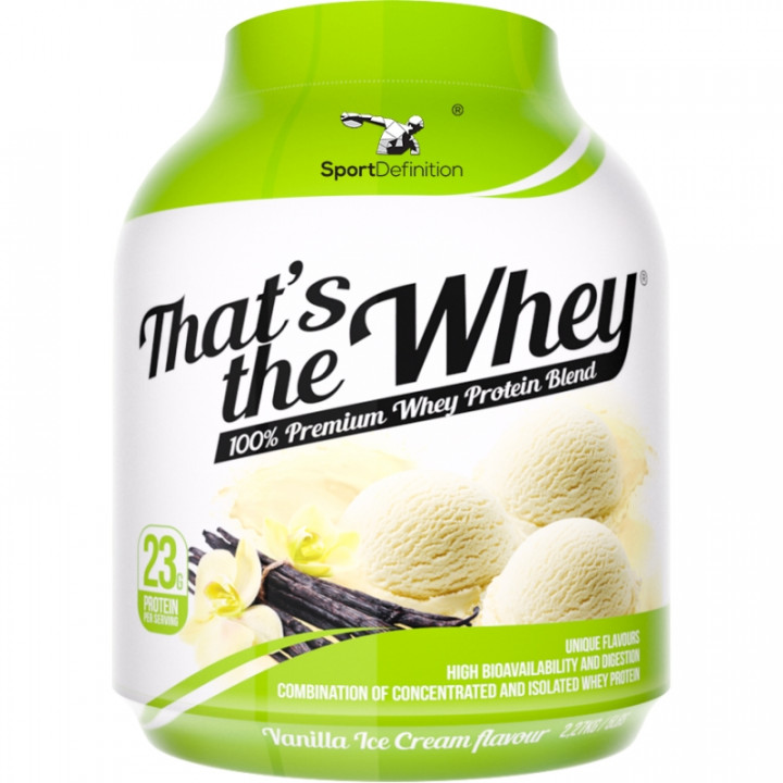 Sport Definition That's The Whey - Vanilla