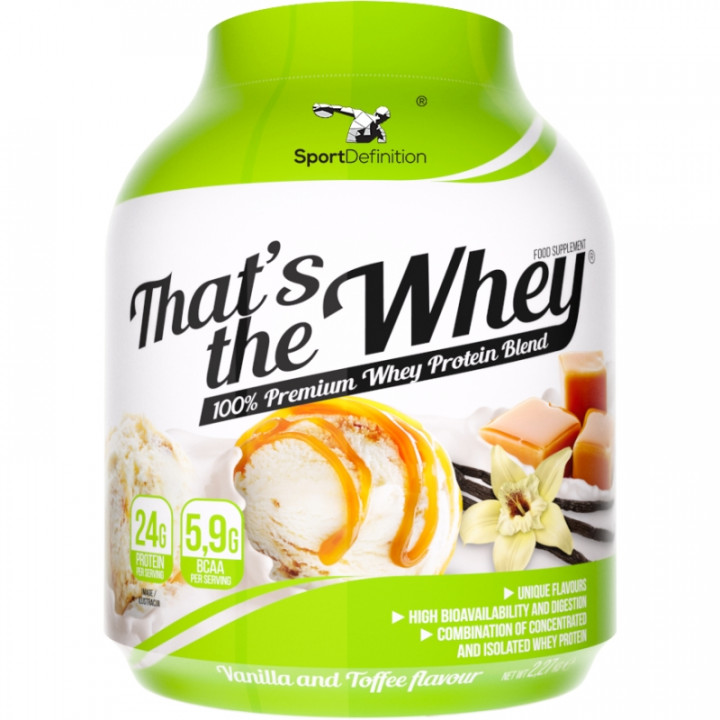 Sport Definition That's The Whey - Vanilla Toffee