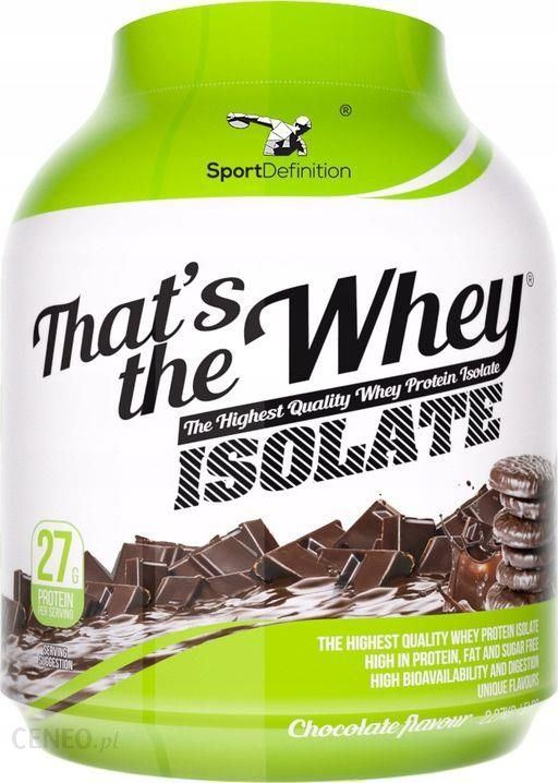 Sport Definition That's the Whey Isolate - Chocolate