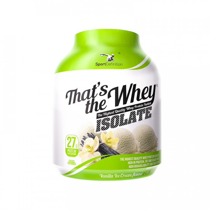 Sport Definition That's the Whey Isolate - Vanilla