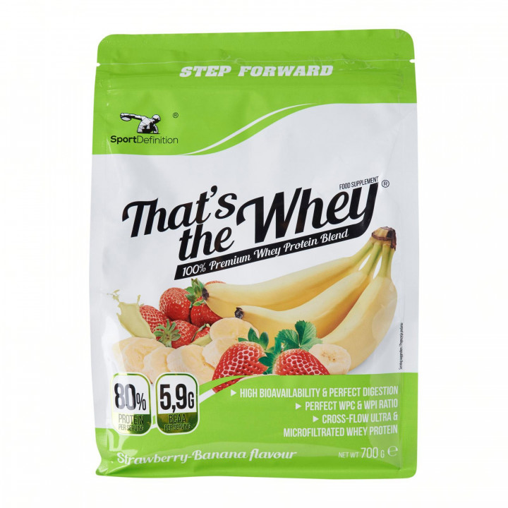 Sport Definition That's The Whey 2kg - Strawberry Banana