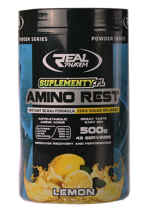 Real Pharm Amino rest 500g - Lemon
