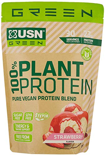USN 100% PLANT PROTEIN -900G - Strawberry