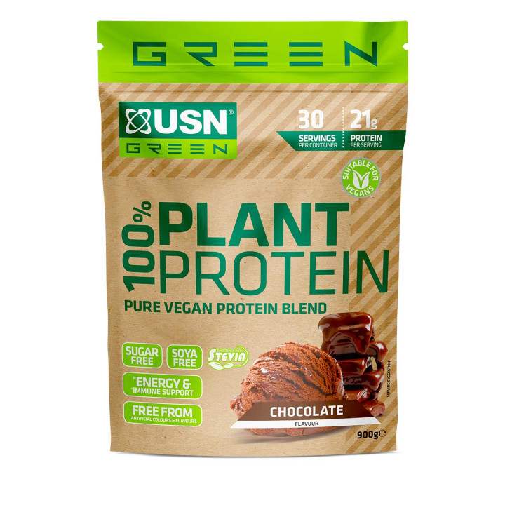 USN 100% PLANT PROTEIN -900G - Chocolate