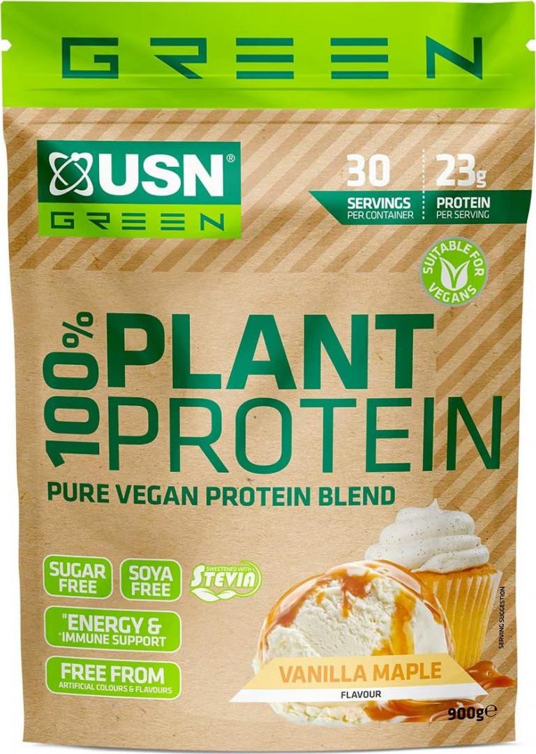 USN 100% PLANT PROTEIN -900G - VANILLA MAPLE