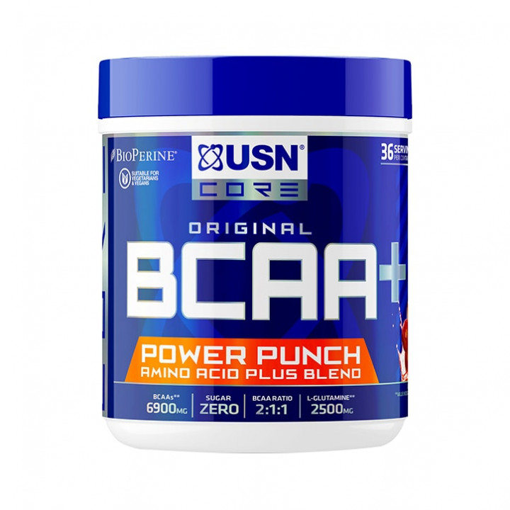 USN BCAA POWER PUNCH 400G - Cherry