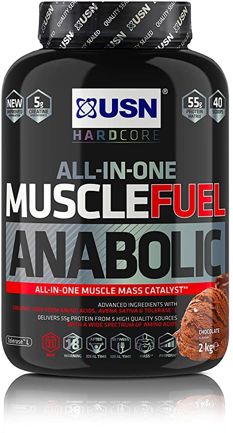 USN MUSCLE FUEL ANABOLIC 2KG - CHOCOLATE