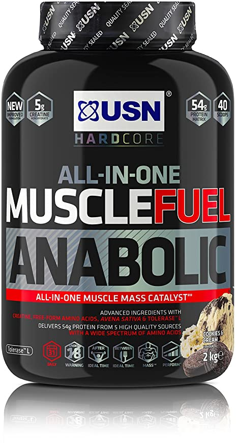 USN MUSCLE FUEL ANABOLIC 2KG - Cookies