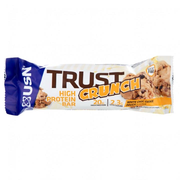 USN TRUST CRUNCH BAR - White Chocolate Cookie Dough