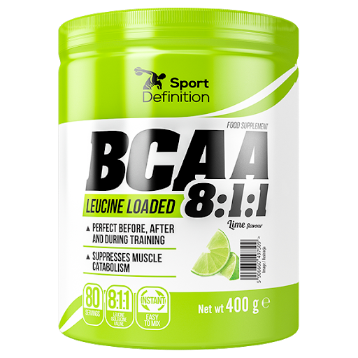 Sport Definition BCAA 8.1.1 400g - Lime