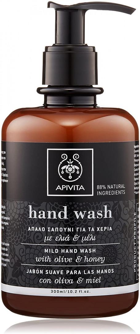 Apivita Mild Hand Wash With Olive & Honey