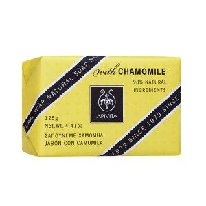 Apivita Natural Soap With Chamomile 100gr
