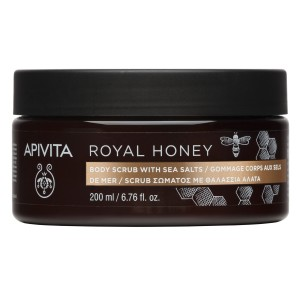 Apivita Royal Honey Body Scrub with Sea Salts 200ml