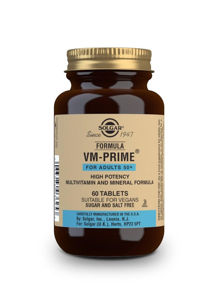 Solgar Vm Prime 60 Tablets For Adults