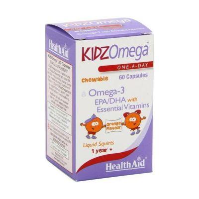 Health Aid Kidzomega Chewable 1 year+ 60 Capsules