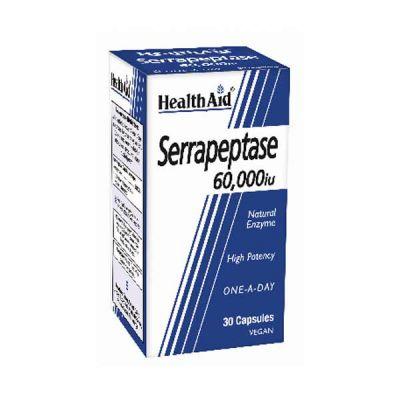 Health Aid Serrapeptase 60000iu 30 Capsules