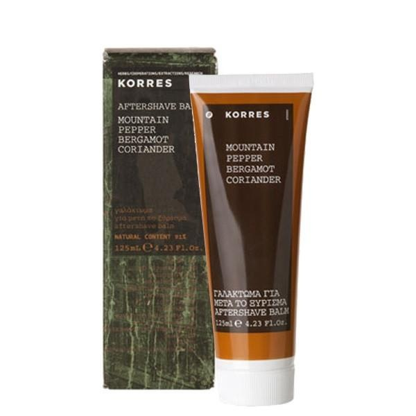 Korres After Shave Balm Mountain Pepper 125ml