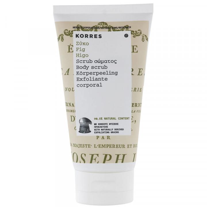 Korres Body Scrub Fig 150ml