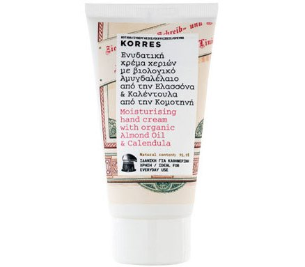 Korres Hand Almond Oil & Calendoula CREAM 75ml