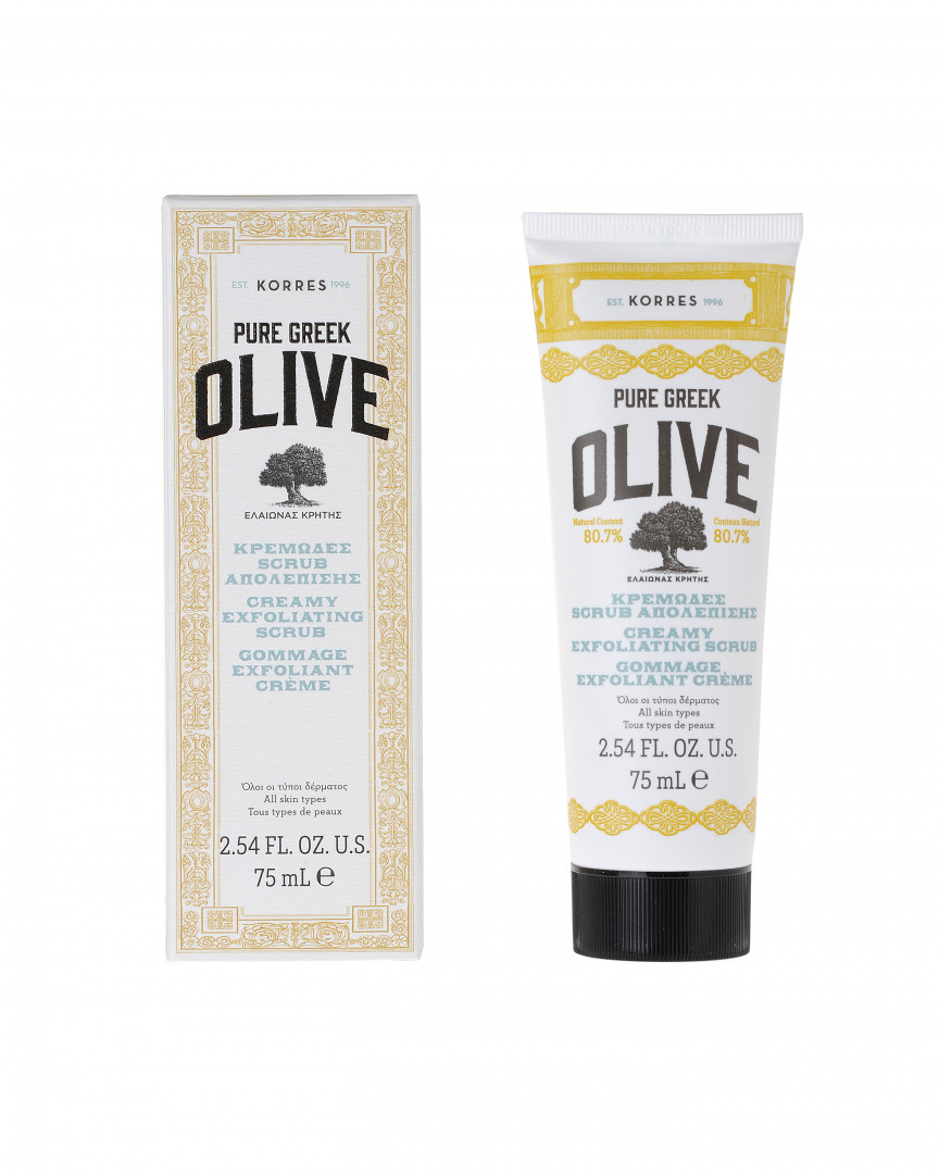 Korres Olive Stones Scrub Oily Combination Skin 40ml